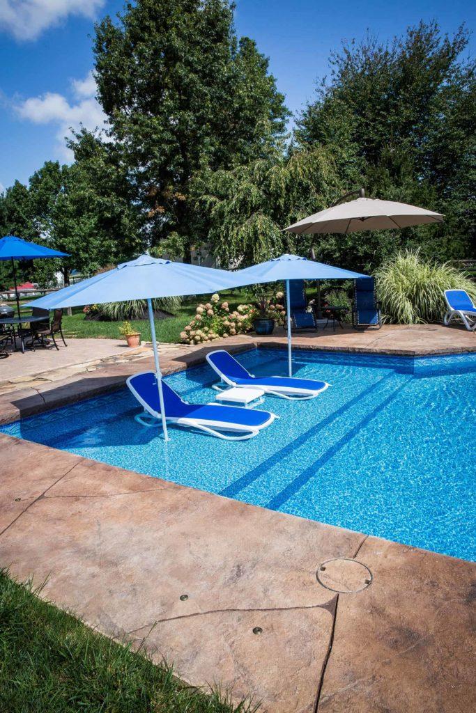 Swimming Pool Ledge