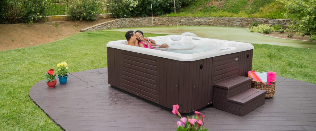 situating your hot tub