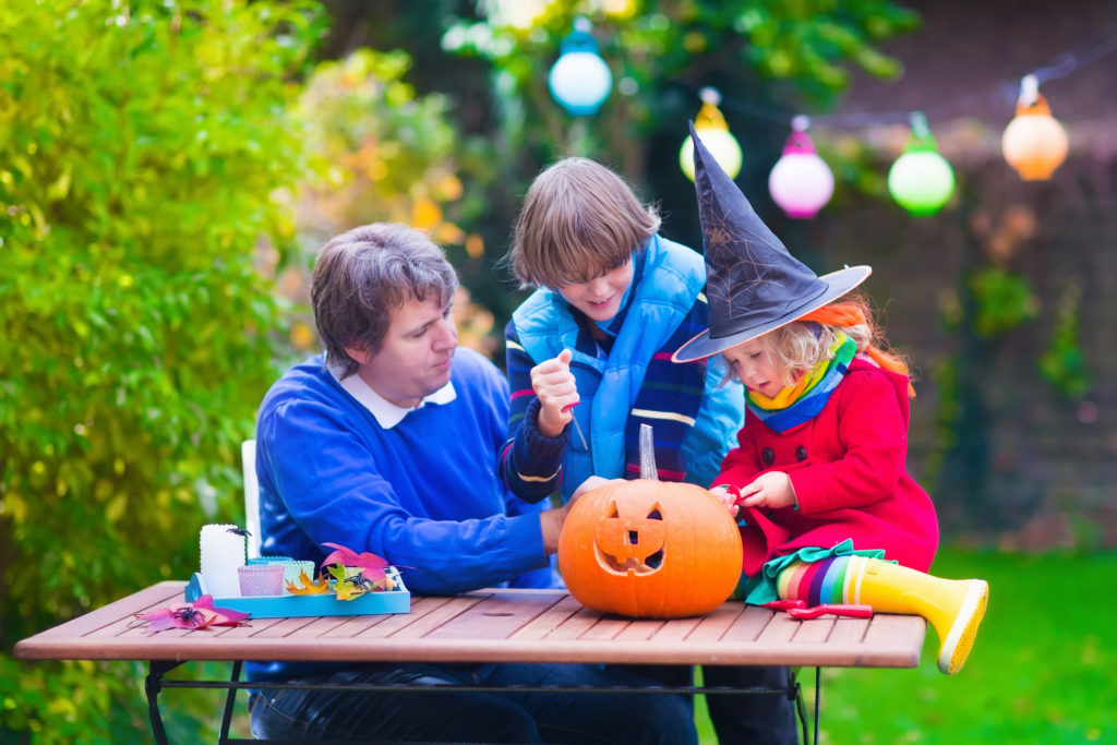 host a perfectly spooky backyard Halloween party